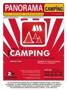 Panorama del sector Camping